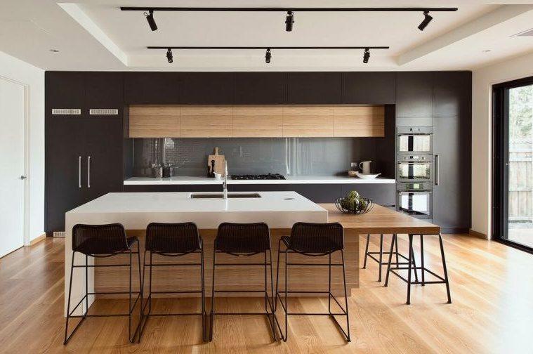 Тренды в дизайне современных кухонь - без ручек 2