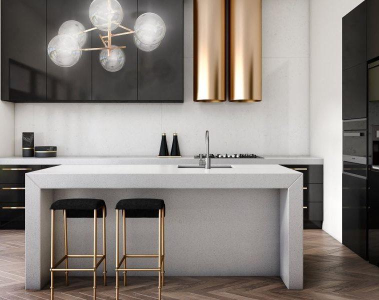 Тренды в дизайне современных кухонь - Металл 2