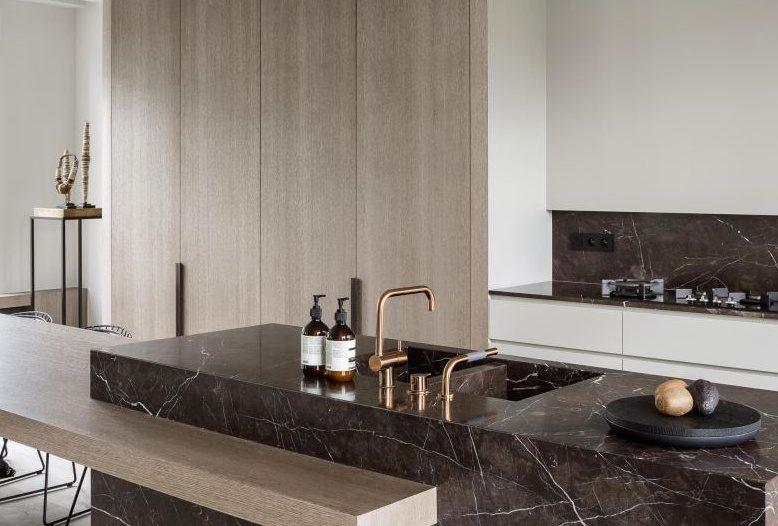 Тренды в дизайне современных кухонь - Мрамор_1