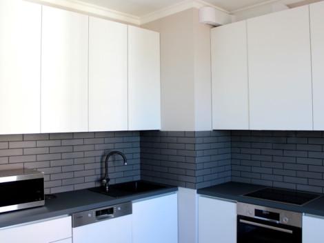 Кухня с корпусом из материала ЛДСП европейской марки Egger